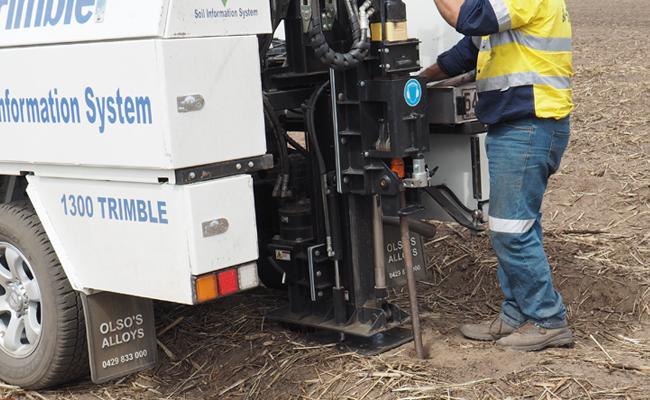 Trimble Ag talajinformációs rendszer